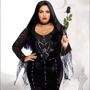 Frightfully Beautiful Velvet Gown Costume